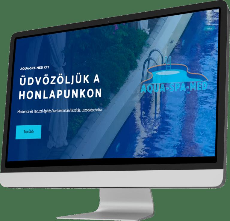 Aqua-Spa-Med Kft honlapja